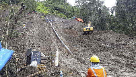 Bolivia Repairing Carrasco-Cochabamba Gas Pipeline