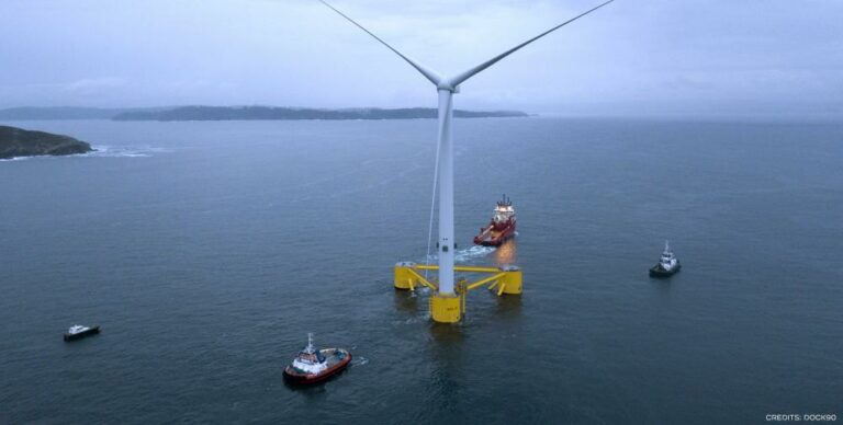 WindFloat Atlantic Project Supplies Energy To Portugal