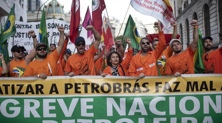 Brazil Oil Strike Drags Into Second Week