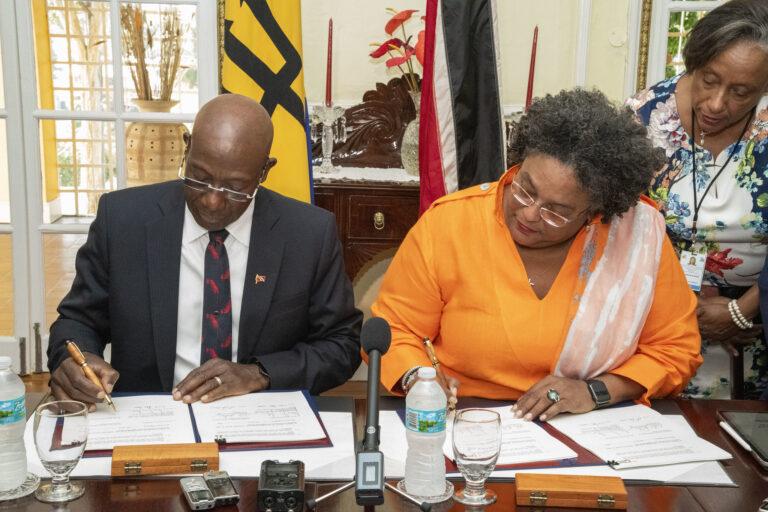Trinidad And Barbados Sign Unitization Agreement