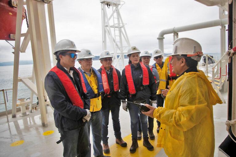 EP PetroEcuador GM Visits Balao Maritime Terminal