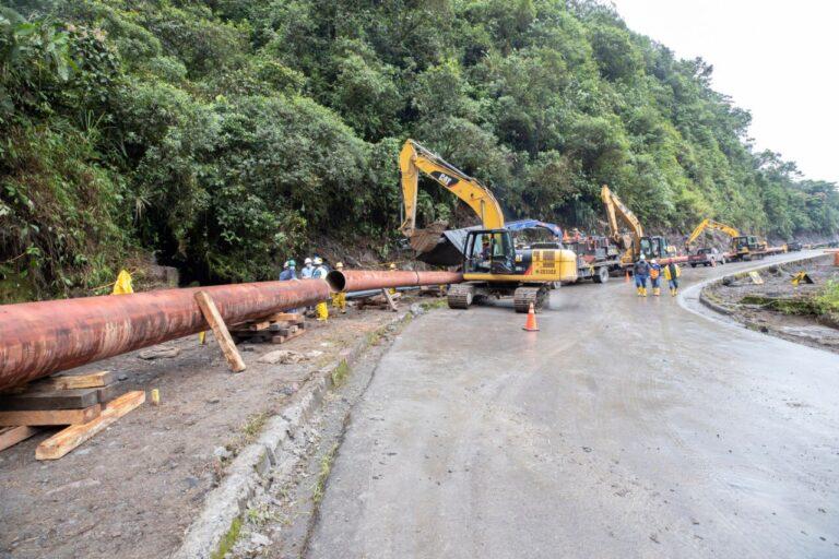Ecuador Oil Flow Tumbles, Pipeline Repairs Advance