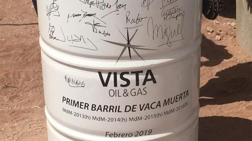 Vista Reveals JV With Trafigura For Vaca Muerta Development