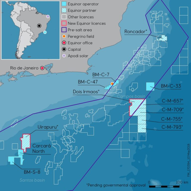 Petrobras Finds Oil At Araucária Prospect