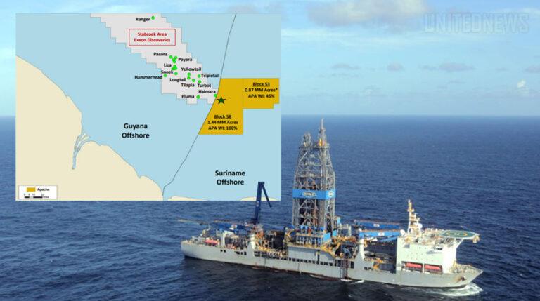 Apache Updates On Suriname Drilling Program