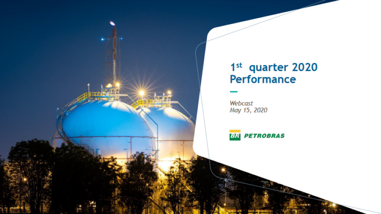 Message From Petrobras' CEO On 1Q:20 Results