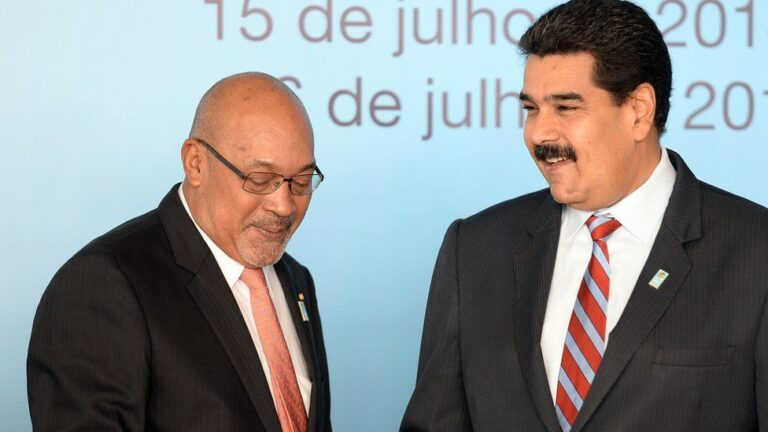 Suriname's President Loses Election