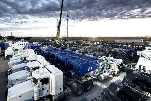 BJ Services' Milestone With Fracturing Technology