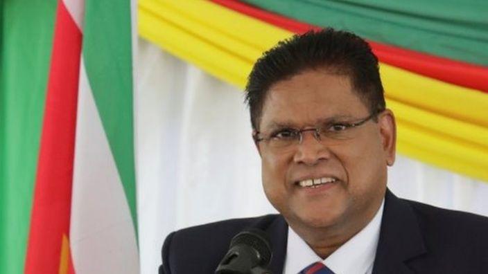 Suriname Elects New President Santokhi