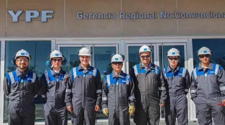 Korean Delegation Visits Vaca Muerta Formation