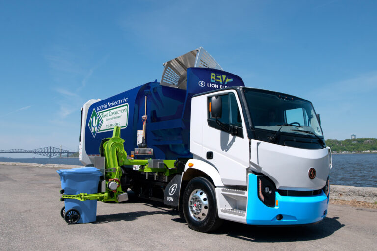 Lion Electric Starts Sales Of Lion8 Trucks