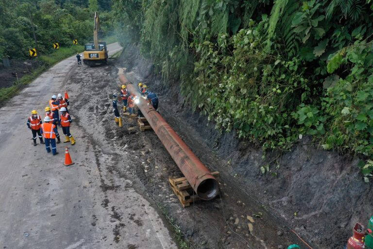 MERNNR Works On Slowing Coca River Water Flow