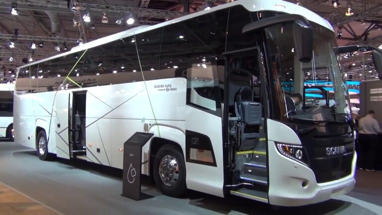 Santiago Upgrades Transport With 355 Scania Buses