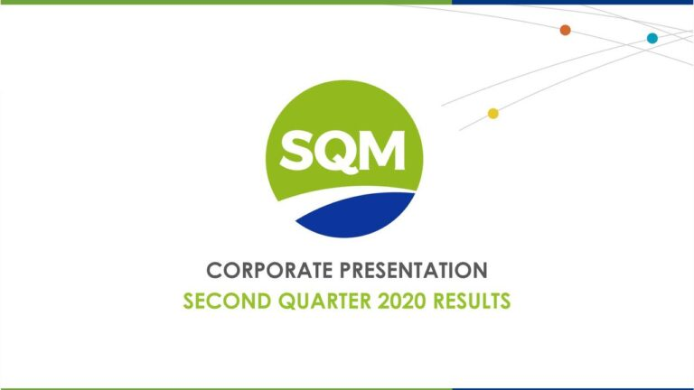 SQM To Hold Conference Call
