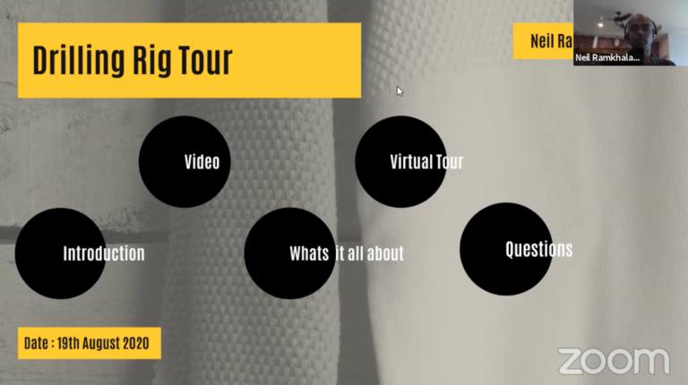 Drilling Rig Virtual Tour: AAPG Trinidad