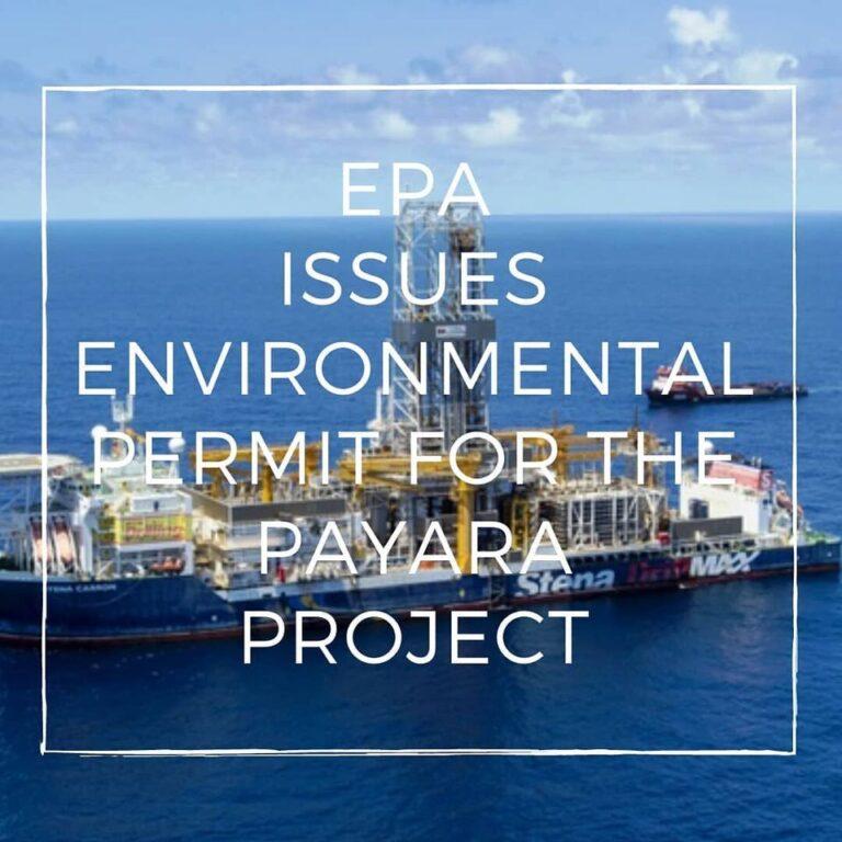 EPA Permit For Payara In Guyana Issued