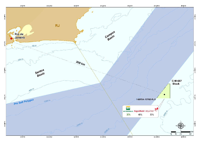 Petrobras Finds Oil At Campos Basin Well