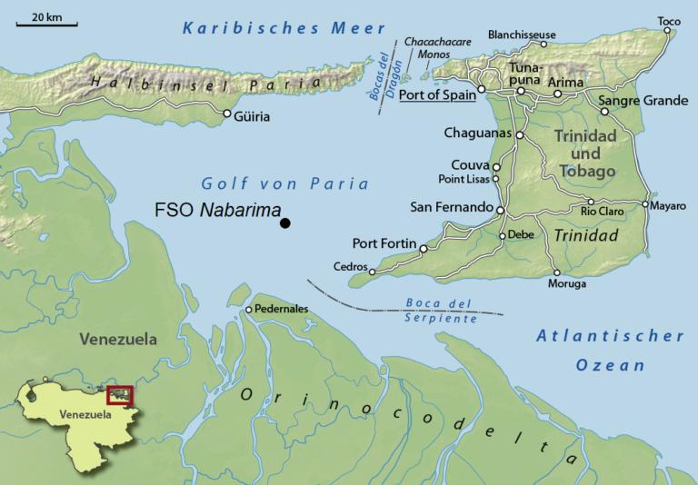 Nabarima: Potential Oil Spill Larger Than Exxon-Valdez