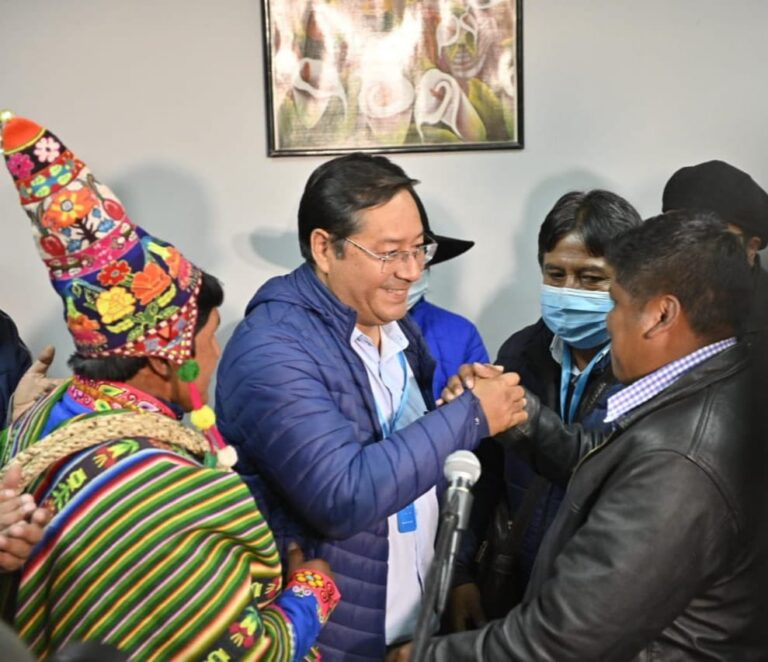 Luis Acre Restores Bolivia To Socialist Party Rule