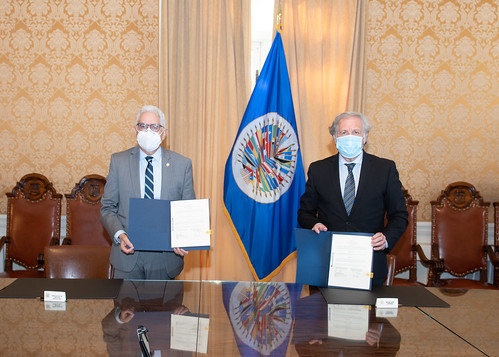 OAS And Bolivia Ink Deal To Observe 18 Oct. Elections