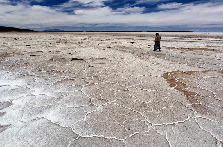 Bolivia Eyes Lithium, Coipasa Salt Flat