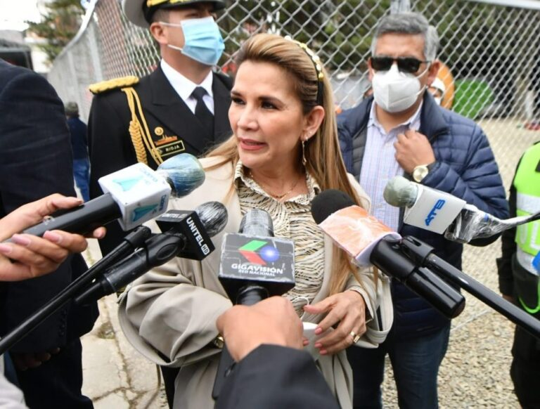 Bolivia's Añez Says She Will Respect Election Results