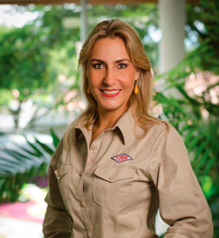 Katya Mirna Diederich Takes Over As YPFB President