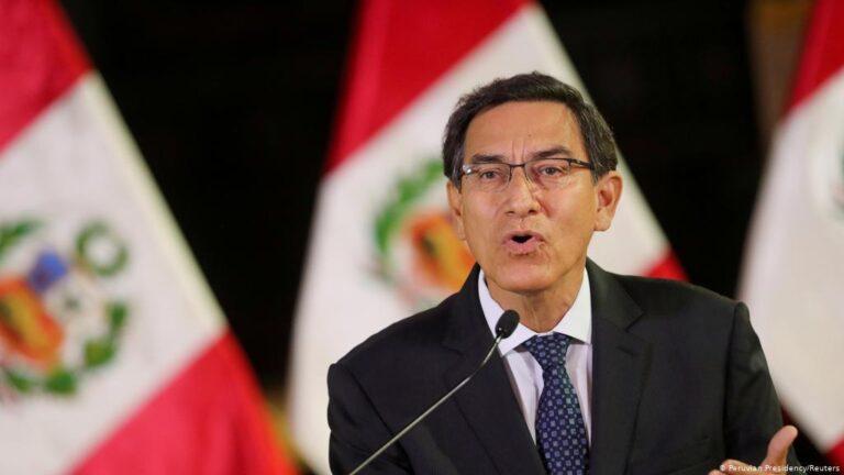 Peru's President Martín Vizcarra Impeached