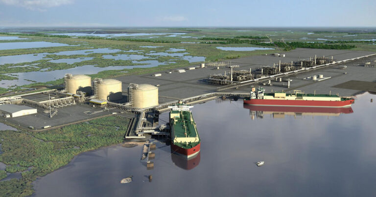 Venture Global LNG Awards KBR Contract Export Facility