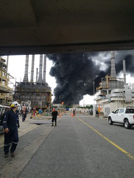 USO Requests Investigation Into Ecopetrol Refinery Fire