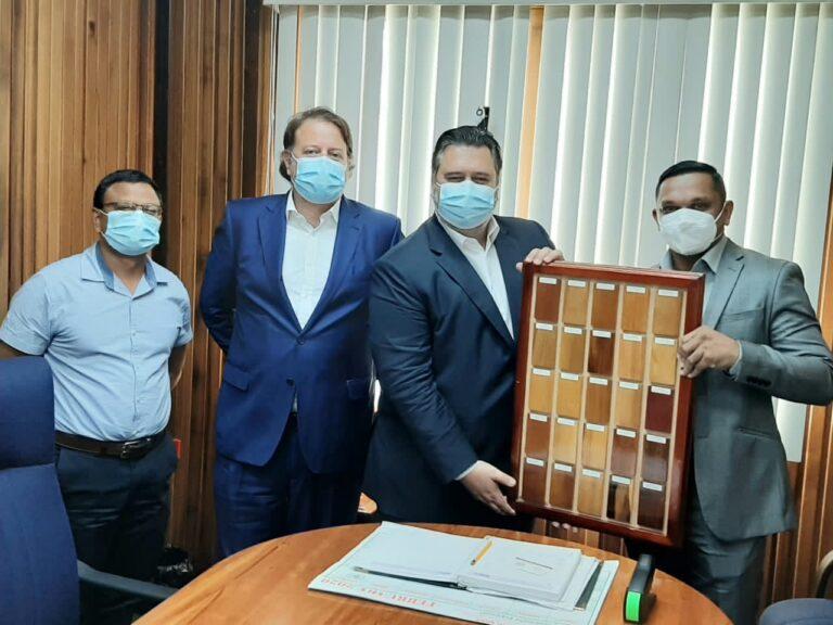 Dubai Investment Team Visits With Guyana