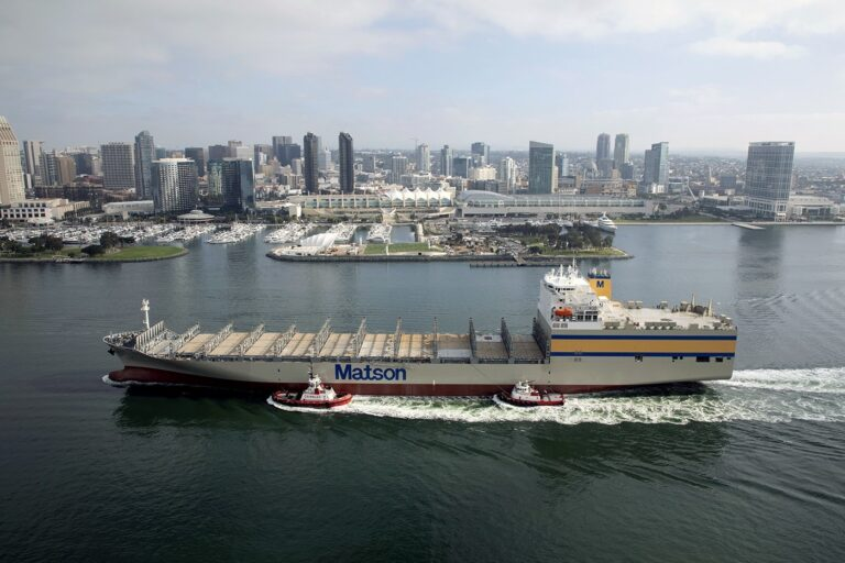 Matson Takes Delivery Of 'Matsonia'