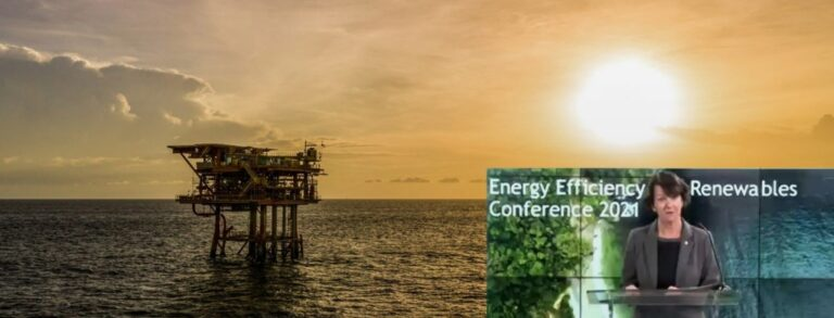 bp's Claire Fitzpatrick At Energy Efficiency Event 2021