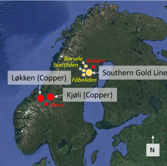 Auger Drill Program Underway At The Southern Gold Line Project, Sweden