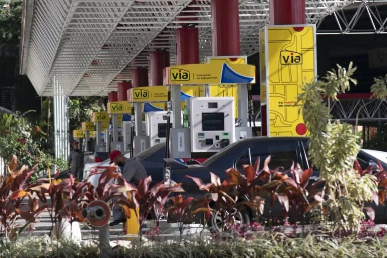 Venezuela's Stations Offer Fuel, Liquor
