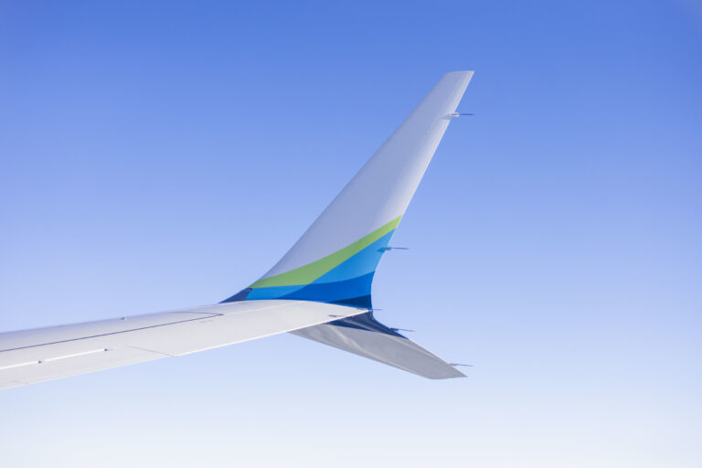 Alaska Airlines Commits To Carbon Goals