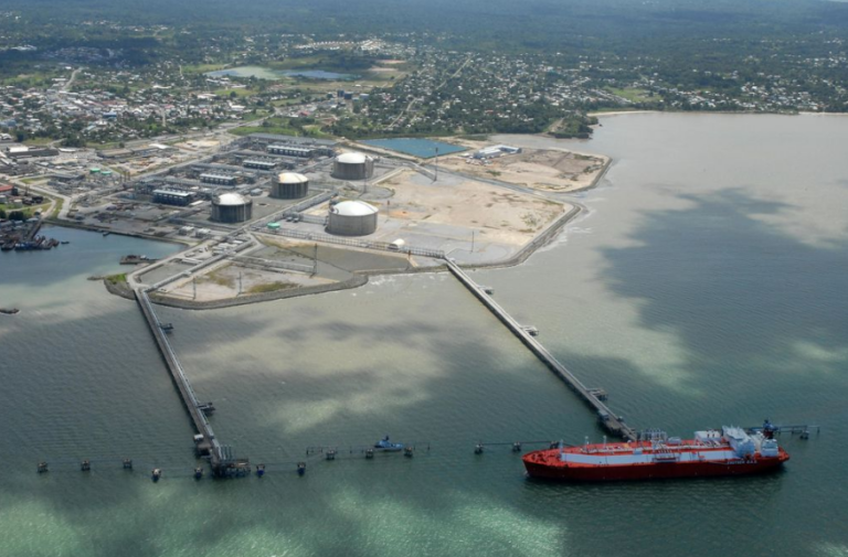 MEEI Minister Delivers Address At Atlantic LNG Event