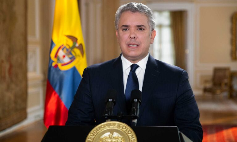 Colombian President Urges Dialogue