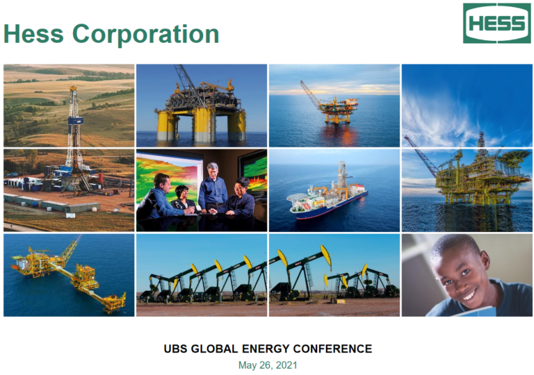 Hess Corp. Talks Guyana At UBS Event [PDF Download]