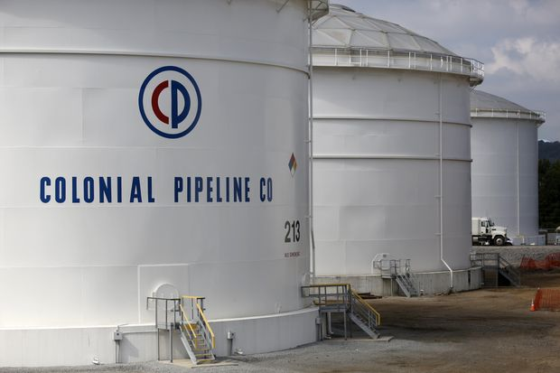 Colonial Pipeline On System Disruption