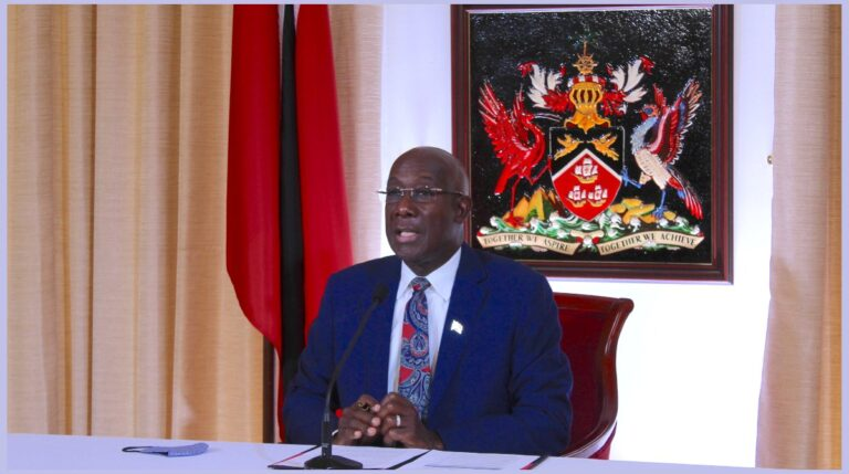 Trinidad PM Rowley On The Energy Transition, Green Hydrogen