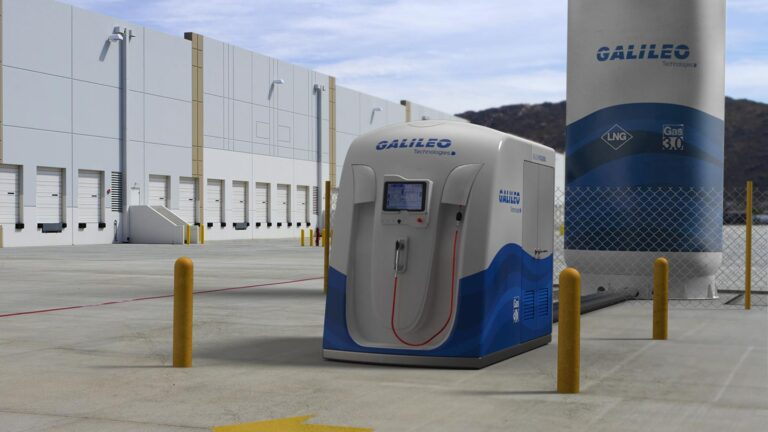 Galileo Patagonia Fueling Station Provides Solution For Heavy Transport And NGVs