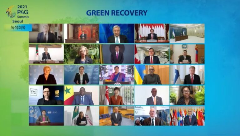 2021 P4G Seoul Summit To Fight Climate Change