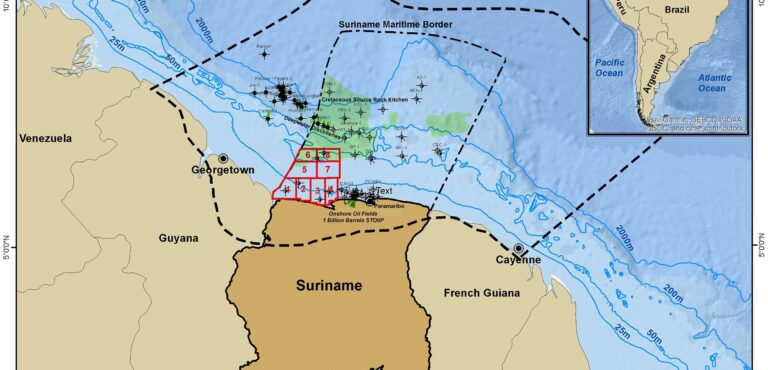 IOCs Take Three Suriname Shallow Offshore Blocks