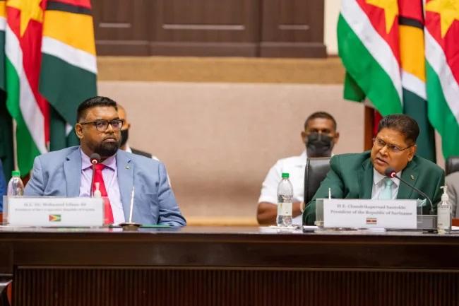 Guyana, Suriname Eye Jointly Developments