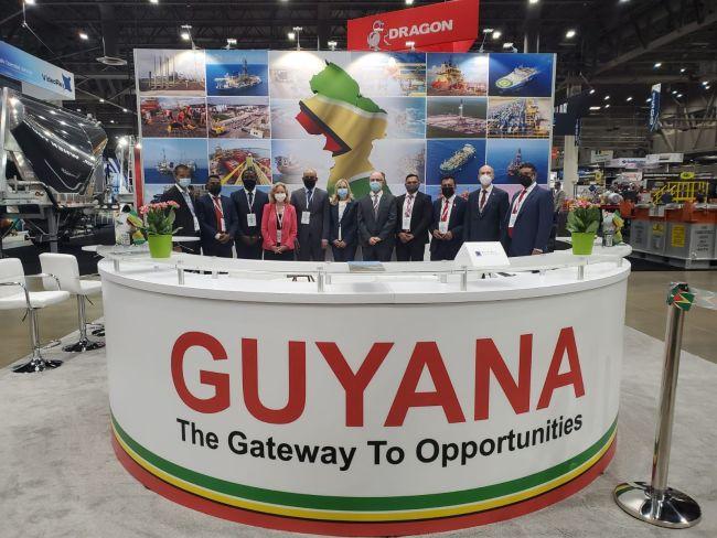 Guyana Contingent Attends #OTC2021