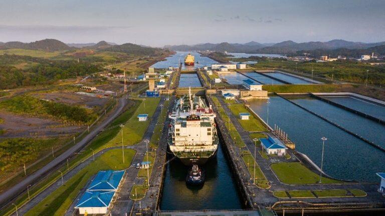 Panama Canal Sets LNG Transite, Tonnage Record