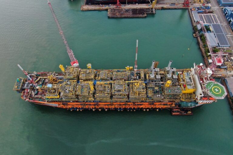 Keppel Delivers Guyana's Second FPSO Liza Unity
