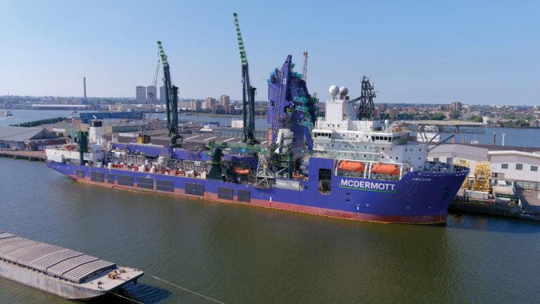 McDermott's Amazon Tapped For Deepwater GOM Development