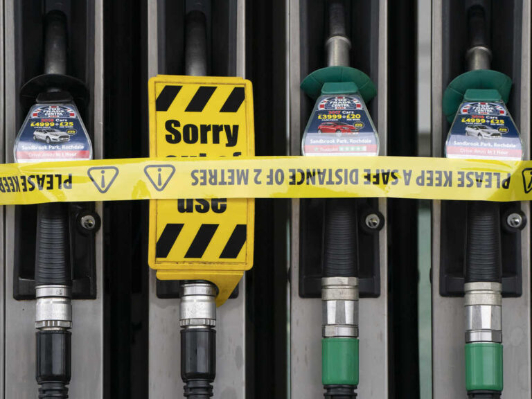 British Gov't Prepares To Help With Gas Crisis